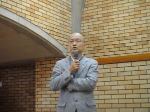 湯澤正信建築・環境学部長