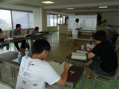 数理・物理コース勉強合宿勉強中2