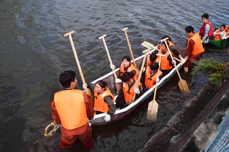 3_どぼじょは7人の漕ぎ手で挑む